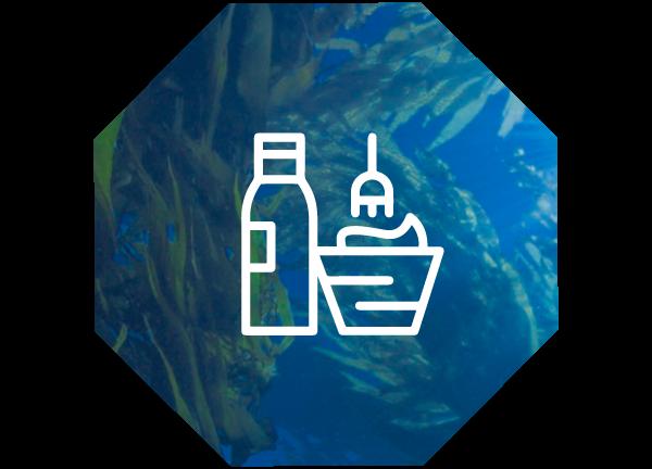 Cosmetología Algas Marinas